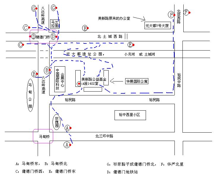 美新路办公室路线图(公交指南)及近况简单播报(更新)